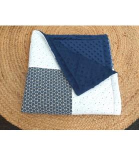 couverture diamant bleu