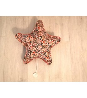 Coussin musical étoile